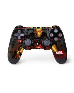 Ironman in Battle PS4 Pro/Slim Controller Skin