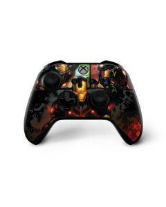 Ironman in Battle Xbox One X Controller Skin
