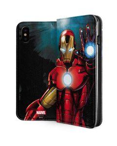 Ironman iPhone XS Folio Case