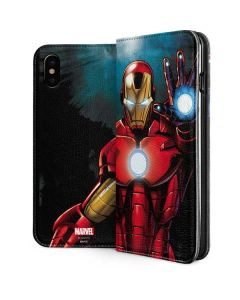 Ironman iPhone XS Max Folio Case