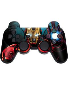 Ironman PS3 Dual Shock wireless controller Skin