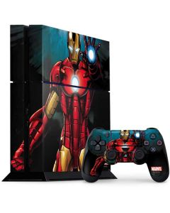 Ironman PS4 Console and Controller Bundle Skin