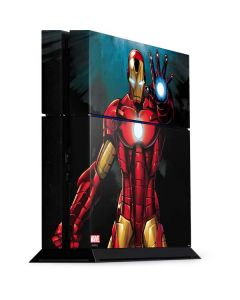 Ironman PS4 Console Skin