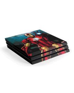 Ironman PS4 Pro Console Skin