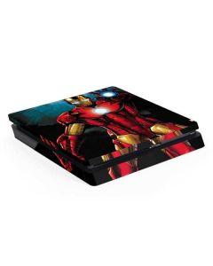 Ironman PS4 Slim Skin