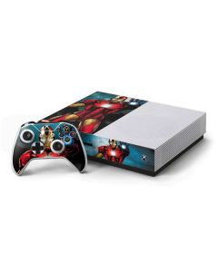 Ironman Xbox One S Console and Controller Bundle Skin