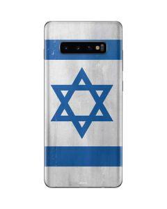 Israel Flag Distressed Galaxy S10 Plus Skin