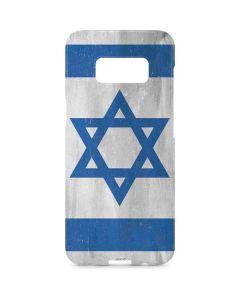 Israel Flag Distressed Galaxy S8 Plus Lite Case