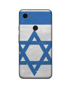 Israel Flag Distressed Google Pixel 3a Skin