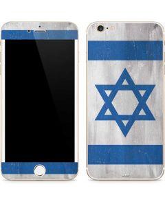 Israel Flag Distressed iPhone 6/6s Plus Skin