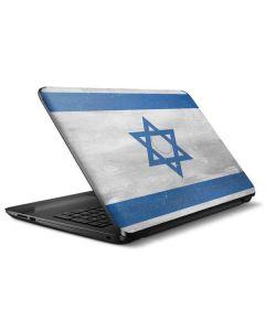 Israel Flag Distressed HP Notebook Skin
