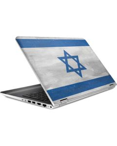 Israel Flag Distressed HP Pavilion Skin