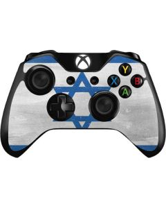 Israel Flag Distressed Xbox One Controller Skin