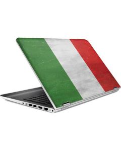 Italy Flag Distressed HP Pavilion Skin