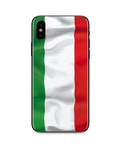 Italy Flag iPhone XS Skin