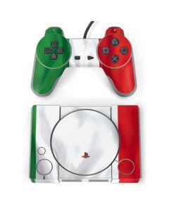Italy Flag PlayStation Classic Bundle Skin