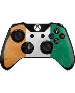 Ivory Coast Flag Distressed Xbox One Controller Skin