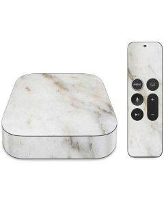 Ivory Taupe Apple TV Skin