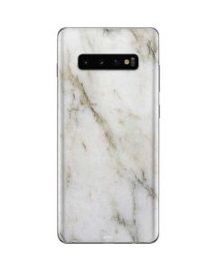 Ivory Taupe Galaxy S10 Plus Skin