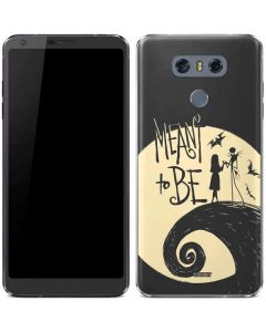 Jack and Sally Meant to Be LG G6 Skin