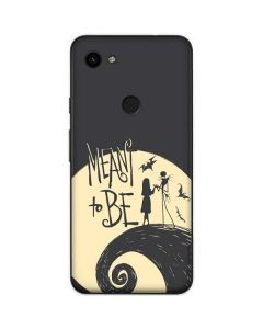 Jack and Sally Meant to Be Google Pixel 3a Skin