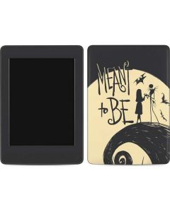 Jack and Sally Meant to Be Amazon Kindle Skin
