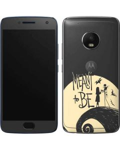 Jack and Sally Meant to Be Moto G5 Plus Skin
