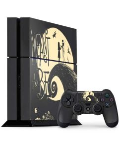 Jack and Sally Meant to Be PS4 Console and Controller Bundle Skin