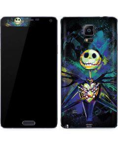 Jack Skellington Galaxy Note 4 Skin