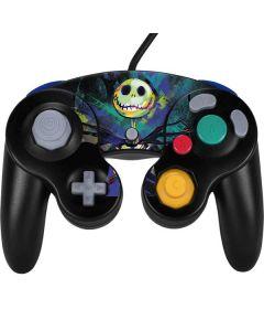 Jack Skellington Nintendo GameCube Controller Skin
