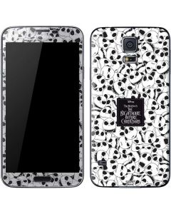 Jack Skellington Pattern Galaxy S5 Skin