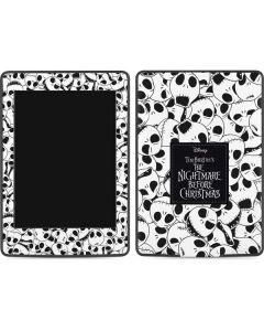 Jack Skellington Pattern Amazon Kindle Skin