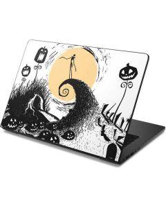 Jack Skellington Pumpkin King Dell Chromebook Skin