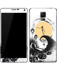 Jack Skellington Pumpkin King Galaxy Note 4 Skin
