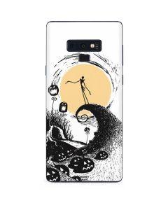 Jack Skellington Pumpkin King Galaxy Note 9 Skin