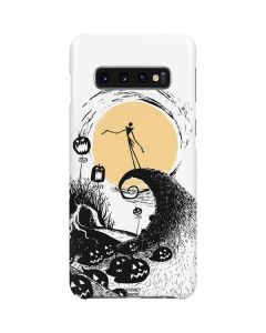 Jack Skellington Pumpkin King Galaxy S10 Plus Lite Case
