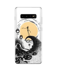 Jack Skellington Pumpkin King Galaxy S10 Plus Skin