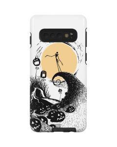 Jack Skellington Pumpkin King Galaxy S10 Pro Case