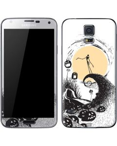 Jack Skellington Pumpkin King Galaxy S5 Skin