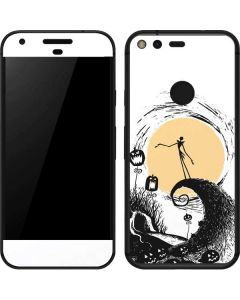 Jack Skellington Pumpkin King Google Pixel Skin
