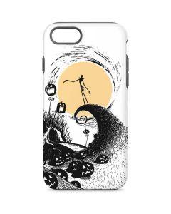 Jack Skellington Pumpkin King iPhone 8 Pro Case