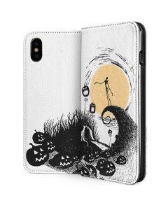 Jack Skellington Pumpkin King iPhone XS Folio Case