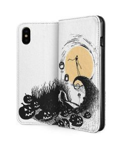 Jack Skellington Pumpkin King iPhone XS Max Folio Case