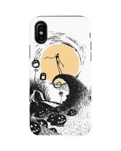 Jack Skellington Pumpkin King iPhone XS Pro Case
