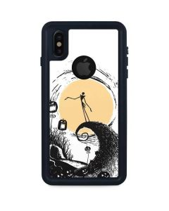 Jack Skellington Pumpkin King iPhone XS Waterproof Case