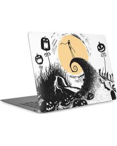 Jack Skellington Pumpkin King Apple MacBook Air Skin