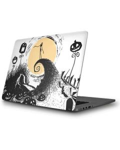 Jack Skellington Pumpkin King Apple MacBook Pro Skin