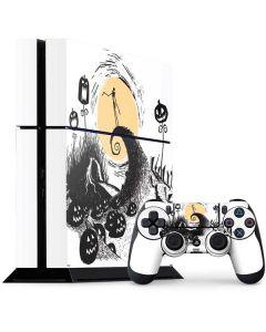 Jack Skellington Pumpkin King PS4 Console and Controller Bundle Skin