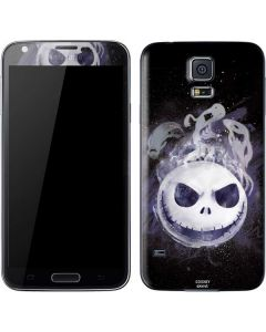 Jack Skellington Space Galaxy S5 Skin