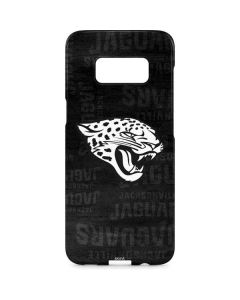 Jacksonville Jaguars Black & White Galaxy S8 Plus Lite Case